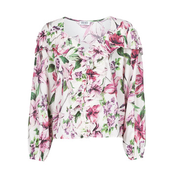 Clothing Women Tops / Blouses Liu Jo WA1084-T5976-T9706 Flower