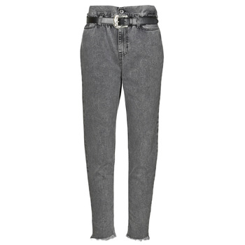 Clothing Women Straight jeans Liu Jo KENDY Grey