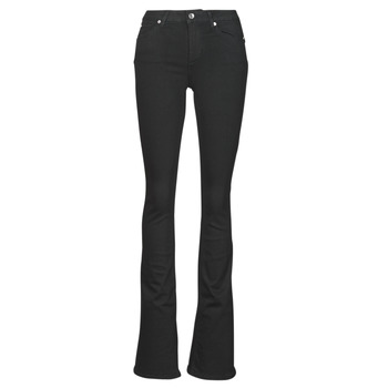 Clothing Women Bootcut jeans Liu Jo BEAT Black