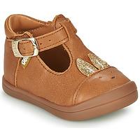 Shoes Girl Flat shoes GBB ANINA Cognac