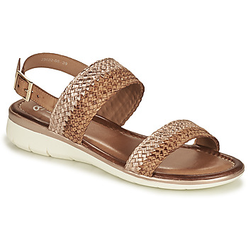 Shoes Women Sandals Ara KRETA-S Brown