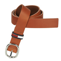 Clothes accessories Women Belts Tommy Jeans TJW CASUAL OVAL BELT 3.0 Cognac