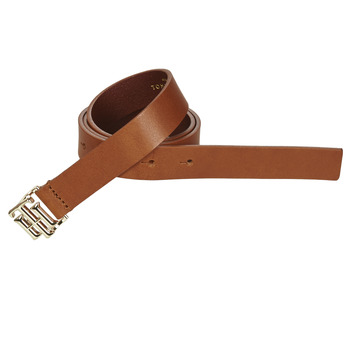 Clothes accessories Women Belts Tommy Hilfiger TH LOGO 2.5 Cognac