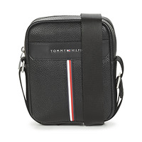 Bags Men Pouches / Clutches Tommy Hilfiger TH DOWNTOWN MINI REPORTER Black