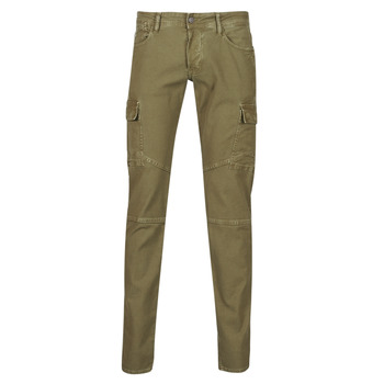 Clothing Men Cargo trousers Le Temps des Cerises  Kaki