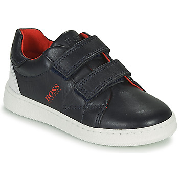 Shoes Boy Low top trainers BOSS AFFALINE Blue