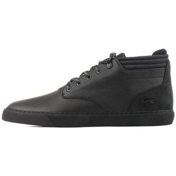 Shoes Men Hi top trainers Lacoste Esparre Chukka Black