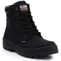 Shoes Women Mid boots Palladium Pallabosse SC Waterproof Black