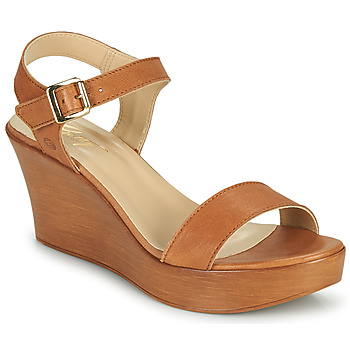 Shoes Women Sandals Betty London CHARLOTA Camel