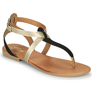 Shoes Women Sandals Betty London ORIOUL Black / Gold