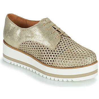Shoes Women Derby Shoes Betty London OULOUNE Gold
