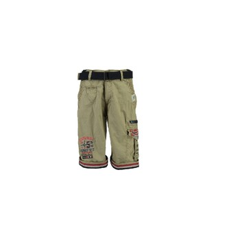 Clothing Boy Shorts / Bermudas Geographical Norway PACOME Beige