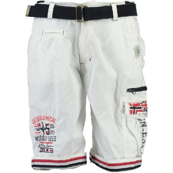 Clothing Boy Shorts / Bermudas Geographical Norway PACOME White