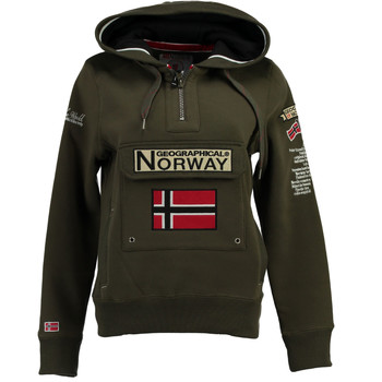 Clothing Boy Sweaters Geographical Norway GYMCLASS Kaki