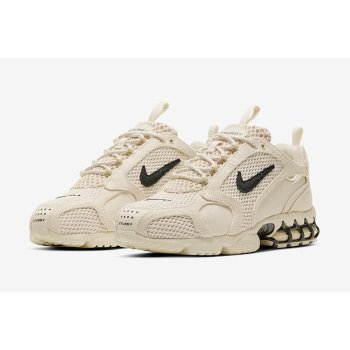 Shoes Low top trainers Nike Zoom Spiridon x Stussy Fossil Fossil/ BLack