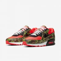 Shoes Low top trainers Nike Air Max 90 Reverse Duck Camo Infrared/Black/Duck Camo