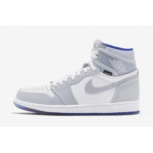Shoes Low top trainers Nike Jordan 1 Black Metallic Gold White/Racer Blue-White
