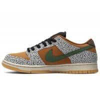 Shoes Low top trainers Nike SB Dunk Low Safari  Neutral Grey/Kumquat-Desert Ochre