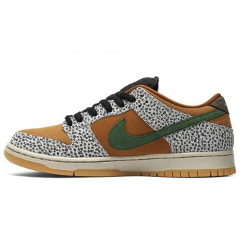 Shoes Low top trainers Nike SB Dunk Low Safari Neutral Grey/Kumquat-Desert Ochre