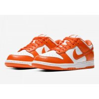 Shoes Low top trainers Nike SB Dunk Low Syracuse White/Orange
