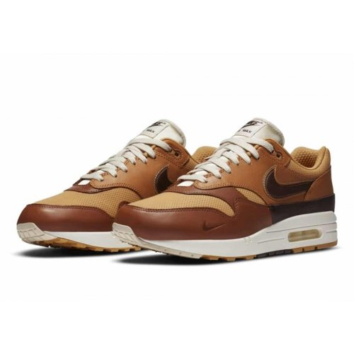 Shoes Low top trainers Nike Air Max 1 Sneaker Day Brown Brown/ Brown