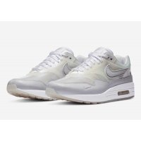 Shoes Low top trainers Nike Air Max 1 Sneaker Day White White/ Silver Metallic