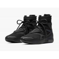 Shoes Low top trainers Nike Air Fear Of God 1 Triple Black Off Noir/Off Noir
