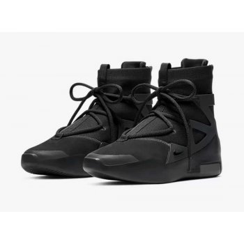 Shoes Low top trainers Nike Air Fear Of God 1 Triple Black Off Noir/Off Noir