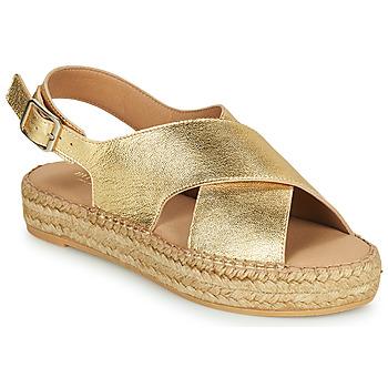 Shoes Women Sandals Minelli MEPLATINE Gold
