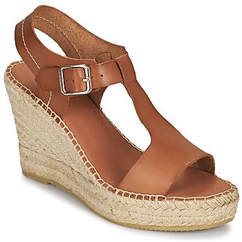 Shoes Women Sandals Minelli LIZZIE Brown