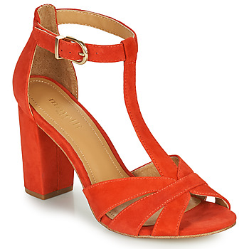 Shoes Women Sandals Minelli THOMACINE Red