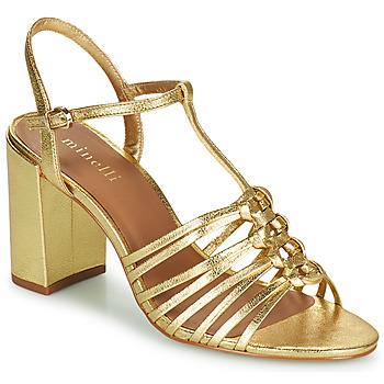 Shoes Women Sandals Minelli SYLVIA Gold