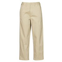 Clothing Women Chinos Tommy Jeans TJW HIGH RISE STRAIGHT Beige