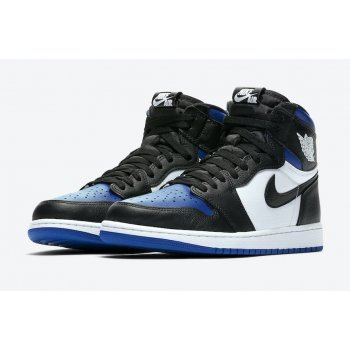 Shoes Hi top trainers Nike Air Jordan 1 Game Royal Black/White-Game Royal-Black
