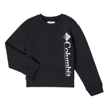 Clothing Girl Sweaters Columbia COLUMBIA PARK FRENCH TERRY CREW Black