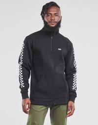 Clothing Men Sweaters Vans VERSA QZP Black