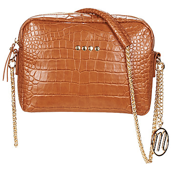 Bags Women Shoulder bags Moony Mood OLOUISA Cognac