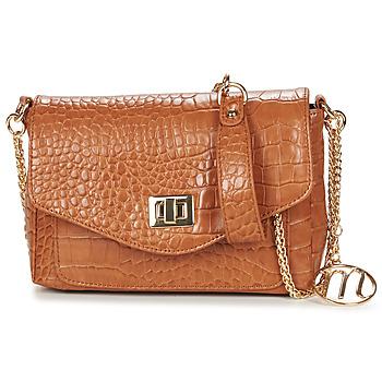 Bags Women Shoulder bags Moony Mood OLGA Cognac