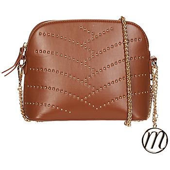 Bags Women Shoulder bags Moony Mood OUNINA Cognac