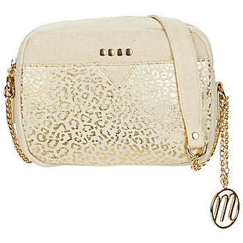 Bags Women Shoulder bags Moony Mood OUSTIK Beige / Gold