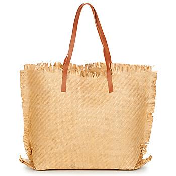 Bags Women Shopping Bags / Baskets Moony Mood ODANE Beige