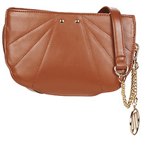 Bags Women Shoulder bags Moony Mood OFANE Cognac