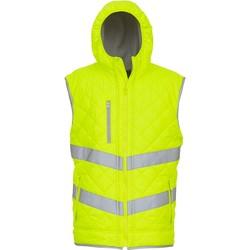 Clothing Jackets / Cardigans Yoko Doudoune  Haute Visibilité jaune