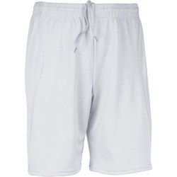 Clothing Men Shorts / Bermudas Proact Short  Multisport blanc