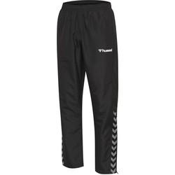 Clothing Children Tracksuit bottoms Hummel Pantalon enfant  Authentic Micro noir/blanc