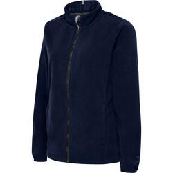 Clothing Women Fleeces Hummel Veste femme  full zip North Fleece bleu marine