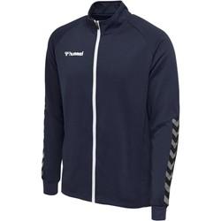 Clothing Men Track tops Hummel Veste  Zip hmlAUTHENTIC Poly bleu marine