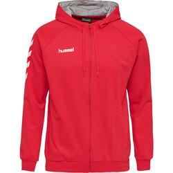 Clothing Men Tracksuits Hummel Veste zippé  Hmlgo rouge/blanc/gris