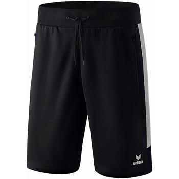 Clothing Men Shorts / Bermudas Erima Short  Worker Squad noir/blanc