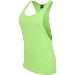 Clothing Women Tops / Sleeveless T-shirts Urban Classics Débardeur femme Urban Classic loose neon vert fluo